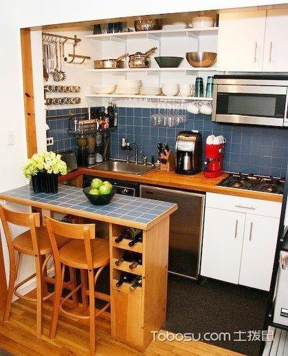 看看别人家的厨房  10款小清新厨房厨房装修效果图