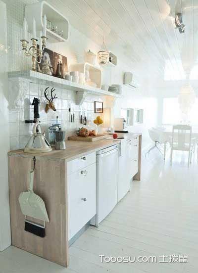 美味设计精选  10款开放式厨房装修效果图