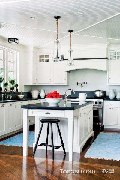 12张欧式厨房吊顶吊顶装修效果图 尊贵奢华