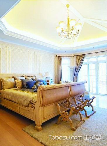 16张现代简约卧室吊顶装修效果图 简单时尚
