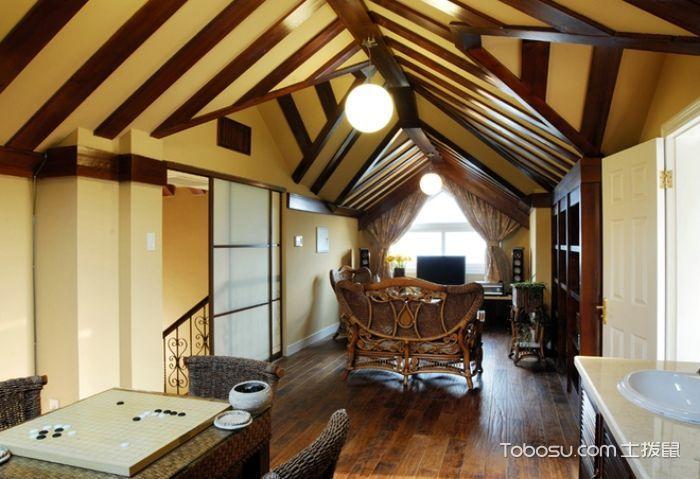 82平米套房欧式风格装修