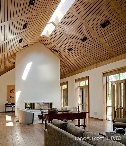 2020乡村客厅装修设计 2020乡村地砖装修效果图大全