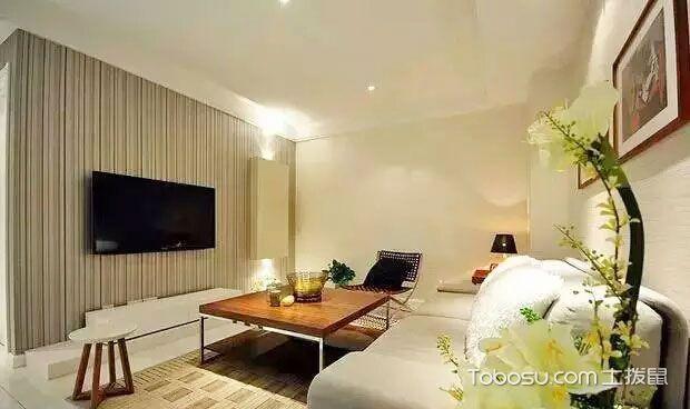 简约电视墙装修效果图大全 打造家居时尚范儿