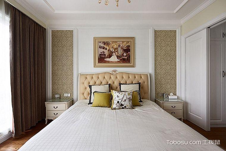 2019现代欧式卧室装修设计图片 2019现代欧式照片墙装修图