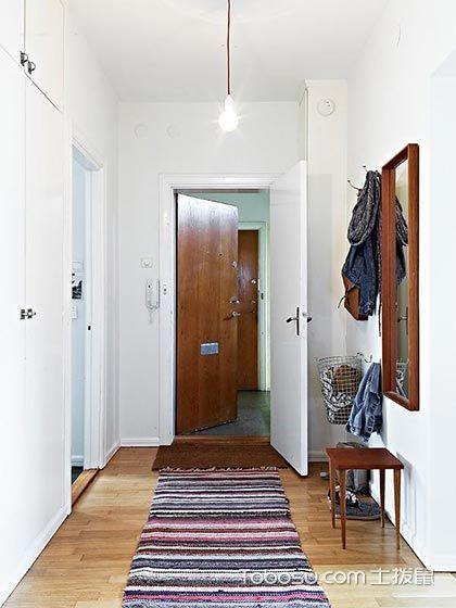 客厅 推拉门_混搭风格小户型65平米装修
