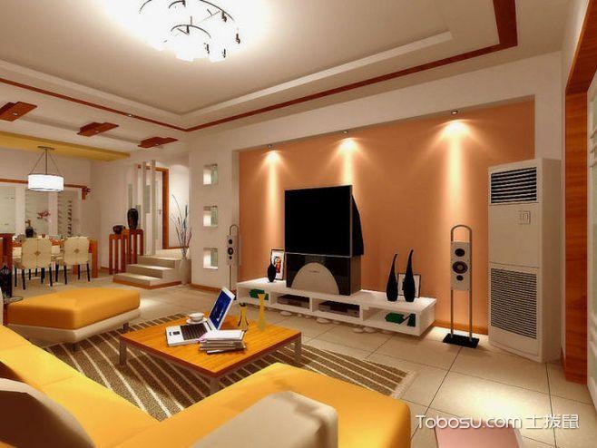 简约生活环境 14款客厅吊顶简装效果图