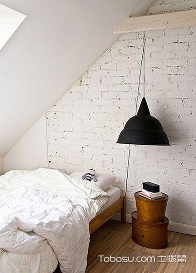 卧室阁楼混搭风格装饰设计图片