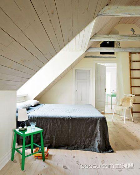 卧室阁楼混搭风格装潢设计图片
