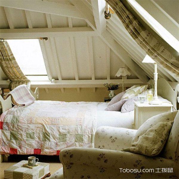 卧室阁楼混搭风格装饰图片
