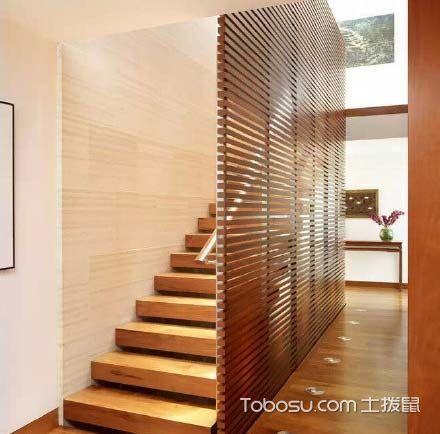 混搭客厅楼梯装修实景图