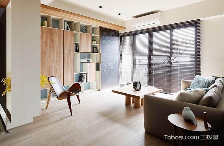 现代简约客厅地板砖平面图