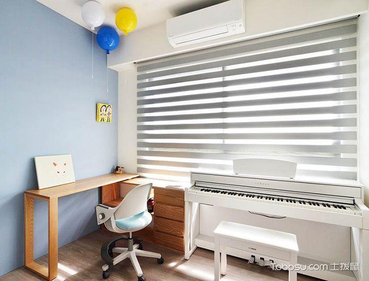 2019现代简约书房装修设计 2019现代简约窗台设计图片