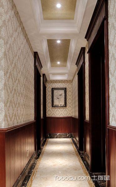 2019现代欧式客厅装修设计 2019现代欧式走廊装修效果图大全