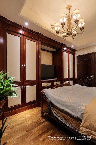 2019现代欧式卧室装修设计图片 2019现代欧式衣柜装修效果图片