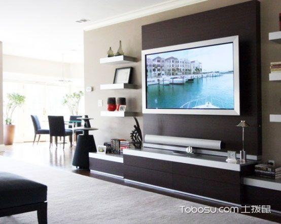 美轮美奂客厅现代简约装潢图