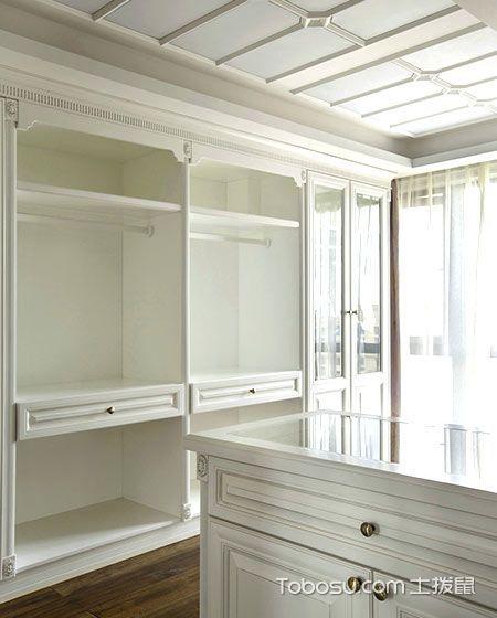 新古典卧室衣柜设计方案