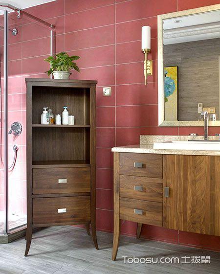 2019新古典浴室设计图片 2019新古典洗漱台装修设计