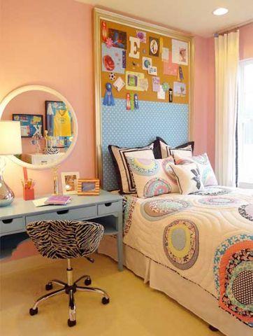 女生卧室黄色地砖室内u乐娱乐平台设计
