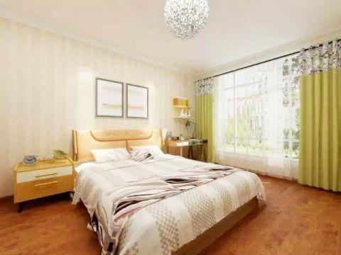 卧室窗帘简欧装修效果图