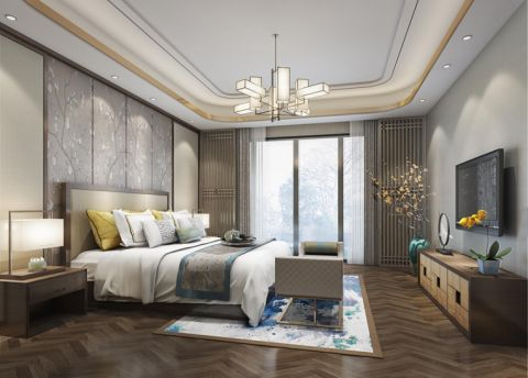 100平米套房欧式风格设计