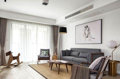 132平米三居室新中式风格案例图