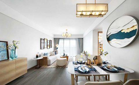 新中式风格套房113平米装饰效果图