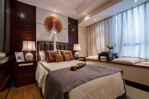 卧室白色飘窗设计图欣赏