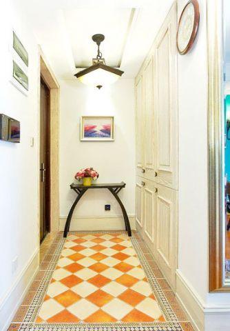 田园玄关走廊装饰图片