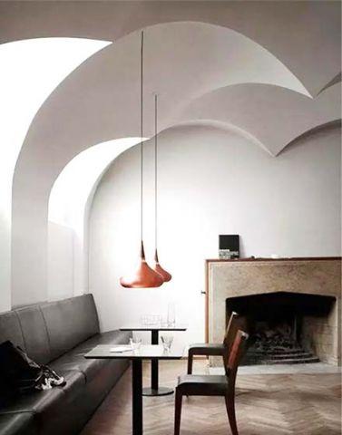 客厅灯具现代简约吊灯装潢图