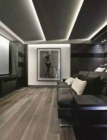 131平米三居室简约风格装修