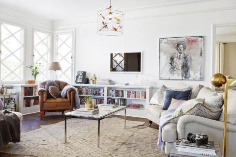 103平米三居室北欧风格设计