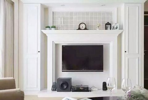 写意电视背景墙家装设计