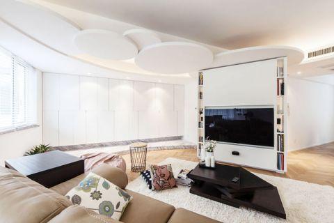 84平米三居室现代风格装饰图