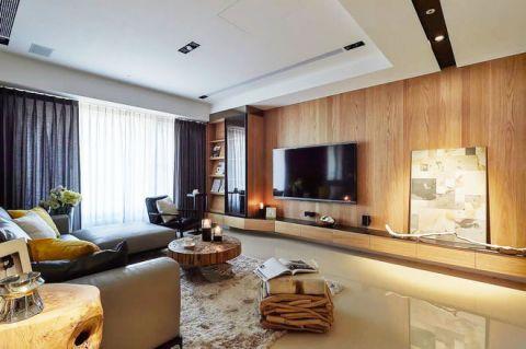 现代中式风格套房144平米装饰实景图片
