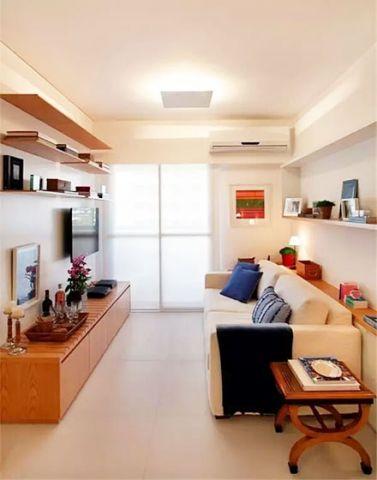 套房116平米现代风格设计图