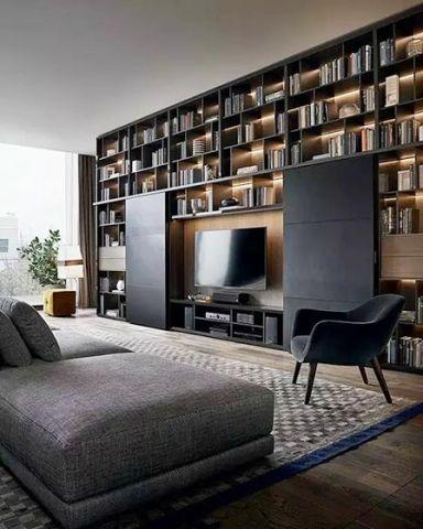 现代风格小户型98平米室内装饰