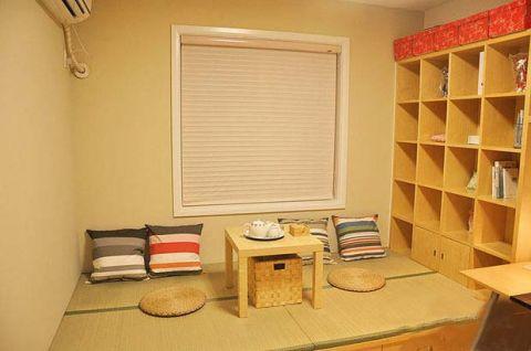 摩登书房榻榻米平面图