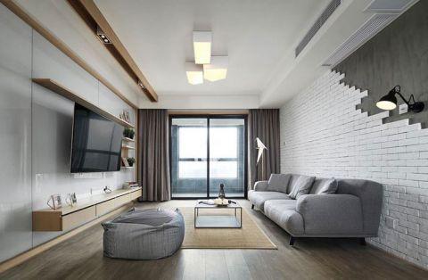2019现代简约110平米装修设计 2019现代简约公寓装修设计
