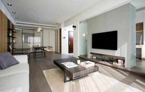 二居室110平米现代简约U乐国际u乐娱乐平台