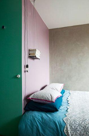低调优雅欧式田园粉色衣柜设计