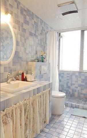 2019混搭浴室设计图片 2019混搭地板砖装饰设计