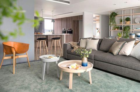 奢华大气客厅地板砖装饰设计