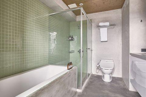 浴室细节装修实景图片