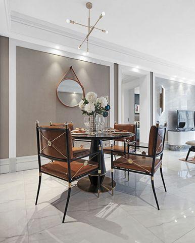 餐厅餐桌简约风格装饰设计图片