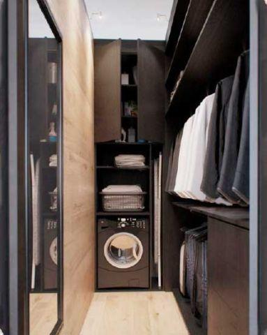 大气衣柜装饰图
