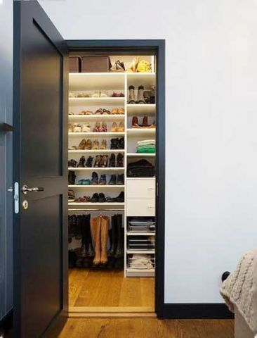 时尚衣柜设计效果图