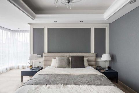 简单大气卧室衣柜装潢设计图片