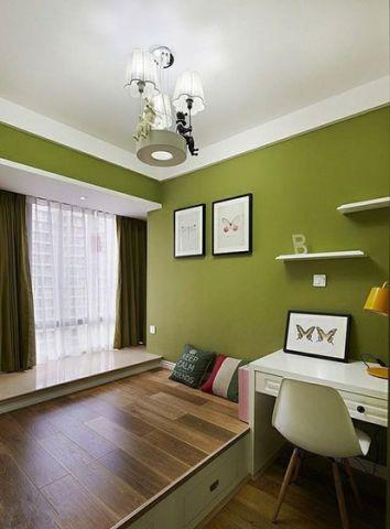 现代简约风格二居室81平米装饰设计图片