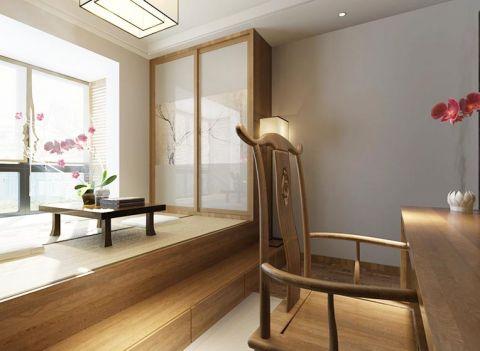 简洁卧室榻榻米家装设计