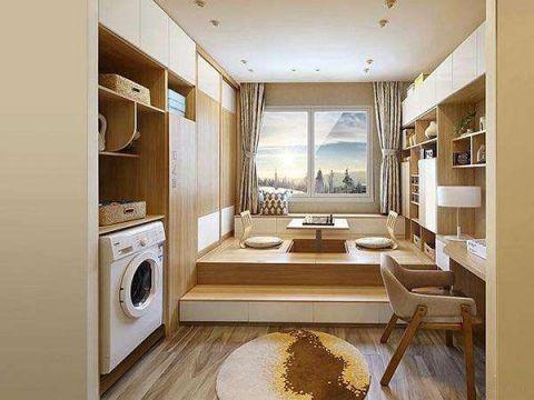 美轮美奂客厅隐形门装潢实景图